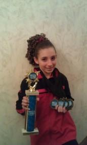 IGC Bronze 2012 - 1st Place AA Champion Jordana Albanese