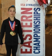 Jordana Albanese 3rd Place Eastern Nationals Level 9 Championship 2015